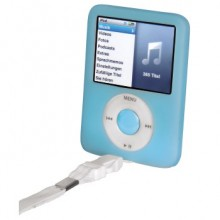 MP3 Funda Silic. P/Ipod Nano 3G Azul