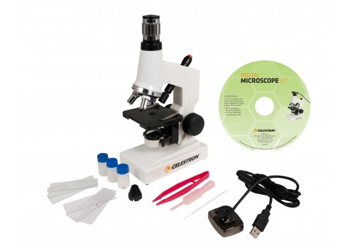 Microscopio Digital Iniciación Kit Celestron