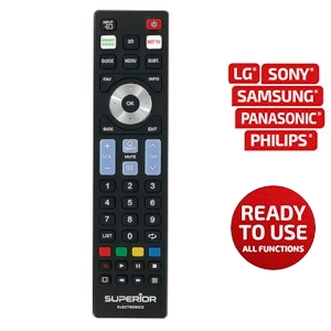Mando TV 5en1 LG-Samsung-Philips-Sony-Panasonic +Smart Superior
