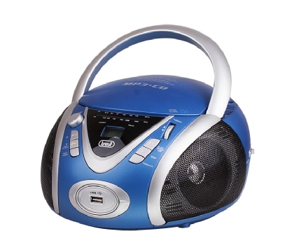 R/CD C/USB Portatil Azul Trevi